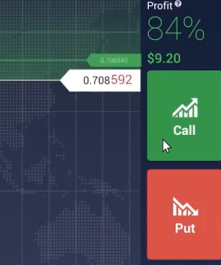 como investir iq option